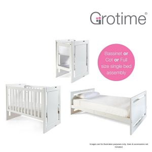 Grotime Overture Bassi-Crib plus Bed Kit