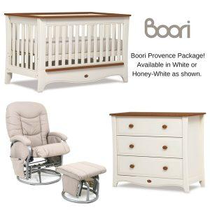 Boori Provence Cot Plus Nursery Package