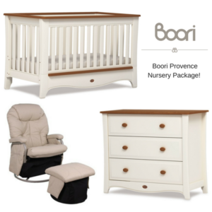 Boori Provence Cot Plus Nursery Package