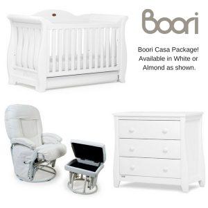 Boori Sleigh Royale Nursery Package
