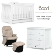 Boori Sleigh Royale Nursery Package