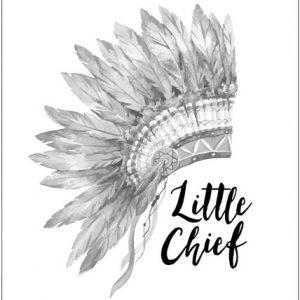 Little Chief Print