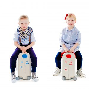 Jet Kids BedBox Ride On Suitcase