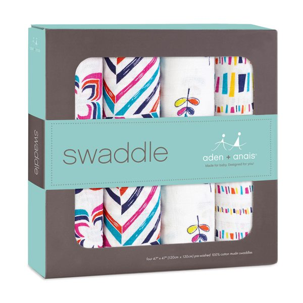 Aden + Anais Flip Side Swaddles