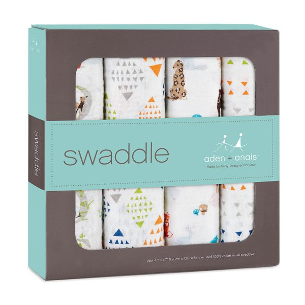 Aden + Anais Paper Tales Swaddles