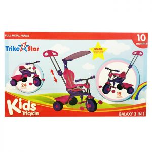 Trike Star Galaxy 3 in 1 Tricycle
