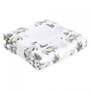 Aden + Anais White Label Serengeti Dream Blanket