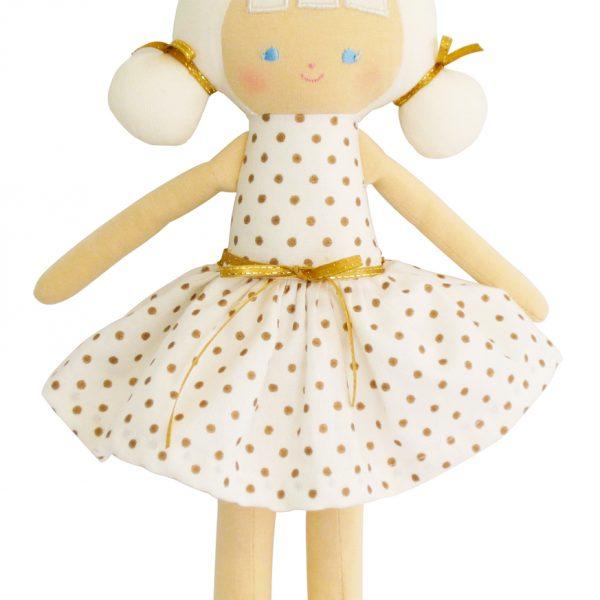Alimrose Audrey Gold Spot Doll