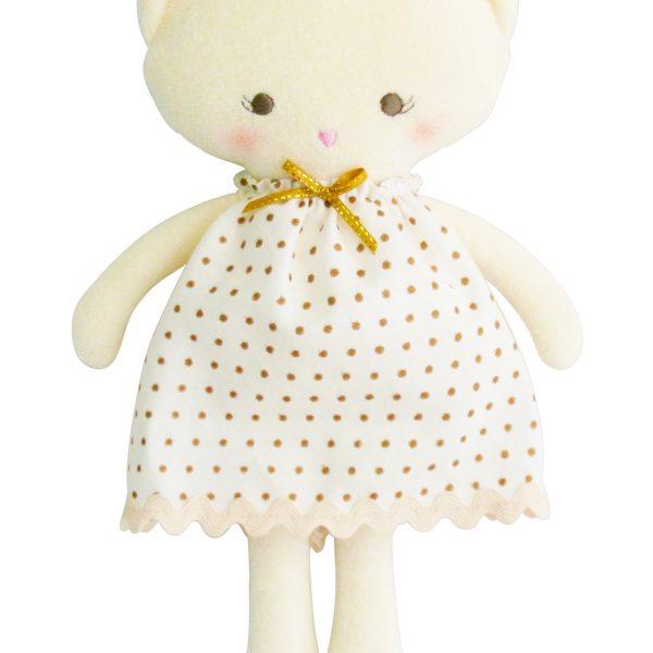 Alimrose Gold Kitty Doll