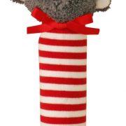 Alimrose Hand Squeakers Koala Red Stripe