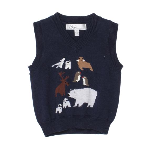Bebe' Harry Knit Vest