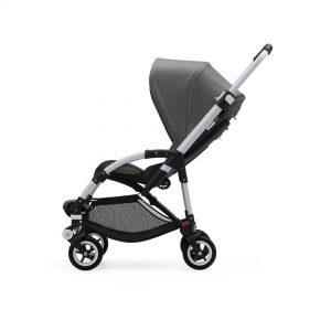 Bugaboo Bee5 Stroller Grey Melange Canopy