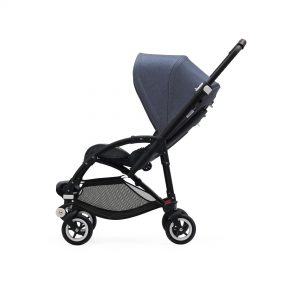 Bugaboo Bee5 Stroller Blue Melange Canopy