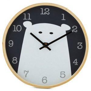 Bear Wooden Clock