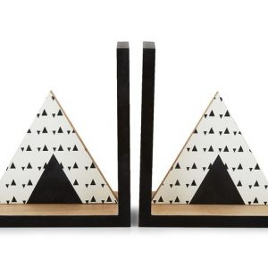Wooden Teepee Bookends