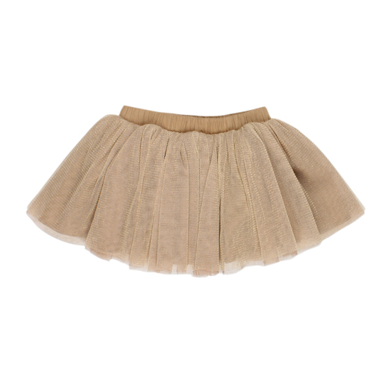 Fox & Finch Vegas Gold Net Skirt