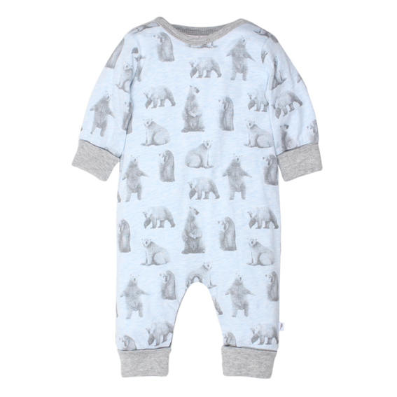 Fox & Finch Juneau Polar Bear Romper