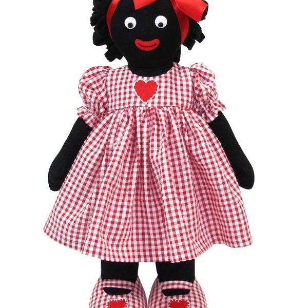 Kate Finn Red Heart Golliwog