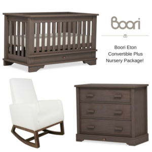 Boori Eton Convertible Plus Nursery Package