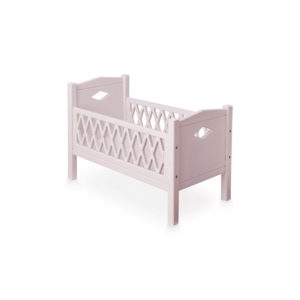 Cam Cam Rose Harlequin Doll's Bed and Mattress
