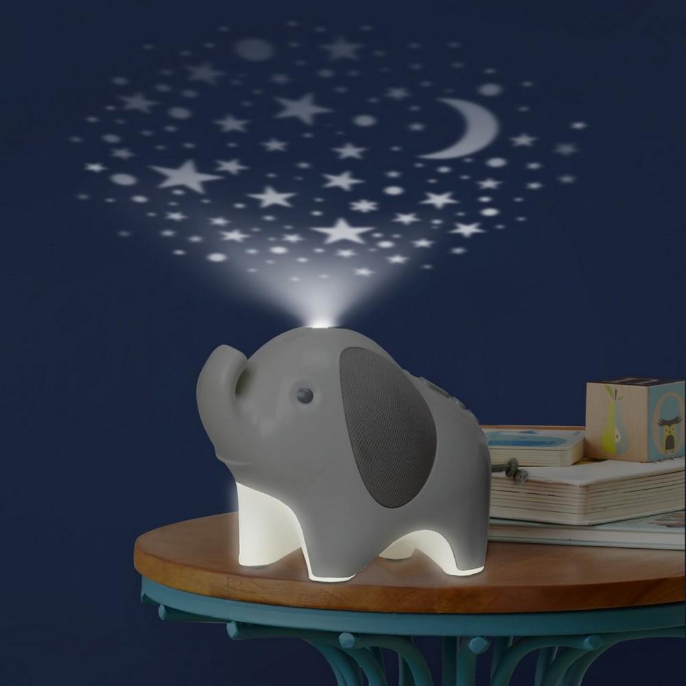 Skip Hop Moonlight & Melodies Elephant Nightlight Soother ...