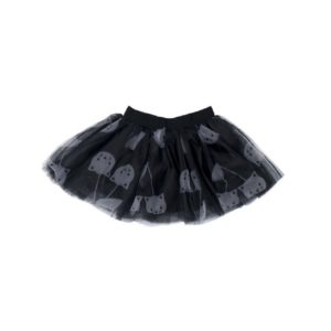 hux black tulle skirt