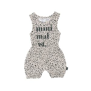 hux dalmatian playsuit