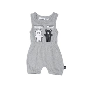 hux duo bear playsuit