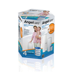 Angelcare Captiva Nappy Bin Refill Value Pack