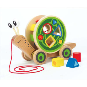 Hape Walk Along Snail Shape Sorter