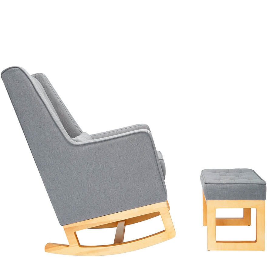 il tutto casper rocking chair ottoman babyroad. Black Bedroom Furniture Sets. Home Design Ideas