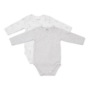Marquise Grey Stripe Bodysuit 2 Pack