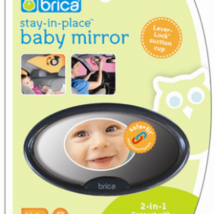Brica Stay-in-place Baby Mirror