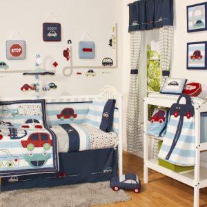 Little Haven Zoom Along 6 Piece Nursery Set