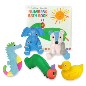 The Very Hungry Caterpillar Bath Book & Squirty Set