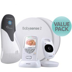 Oricom Babysense 2 with Secure 710 Video Baby Monitor