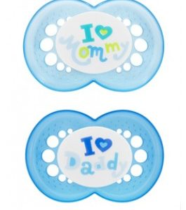MAM Love & Affection Soother 4m+