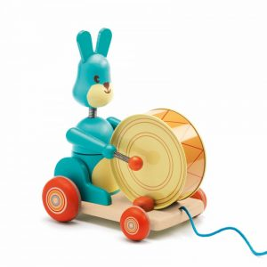 Djeco Bunny Boum Pull Along