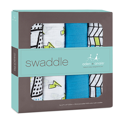 Aden + Anais Swaddle Whiz Kid