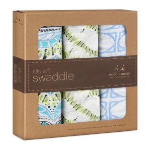 Aden + Anais Bamboo Swaddle Wild One