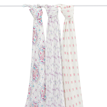 Aden + Anais Bamboo Swaddle Flower Child