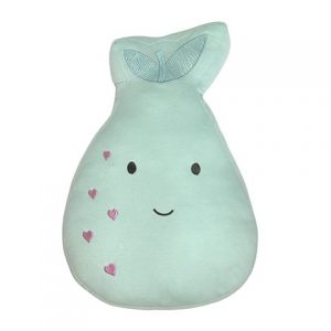 Little Cloud Berry Sweet Throw Pillow Pear