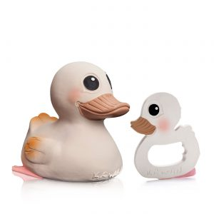 Hevea Kawan Rubber Duck & Teether