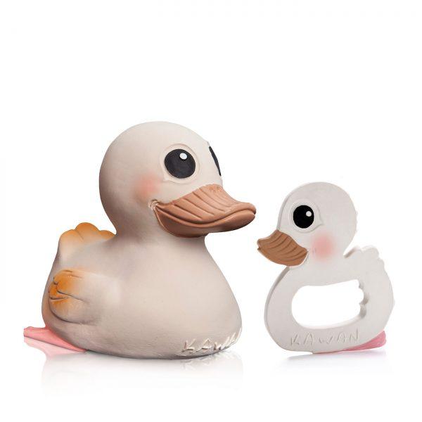 Hevea Kawan Rubber Duck & Teether