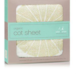 Aden + Anais Organic Muslin Oasis Cot Sheet