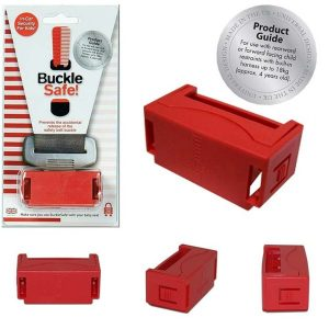 BuckleSafe Seat Belt Buckle Guard