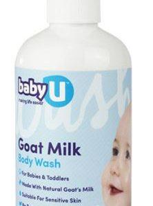 BabyU Goat Milk Body Wash