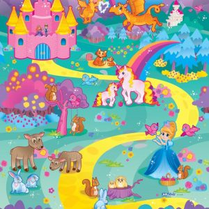 Jolly Kidz Roly Poly Play Mat Fantasy