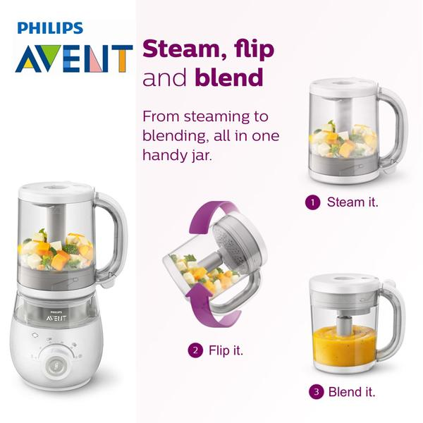 Philips Avent Combined Steamer And Blender Baby Food