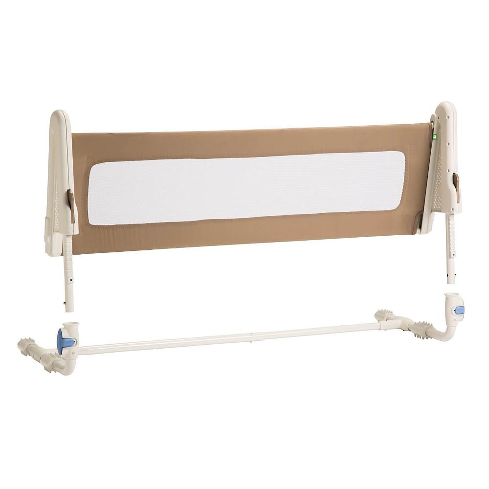 Portable Safety Rail : Safety st bed rail portable bedrail blue